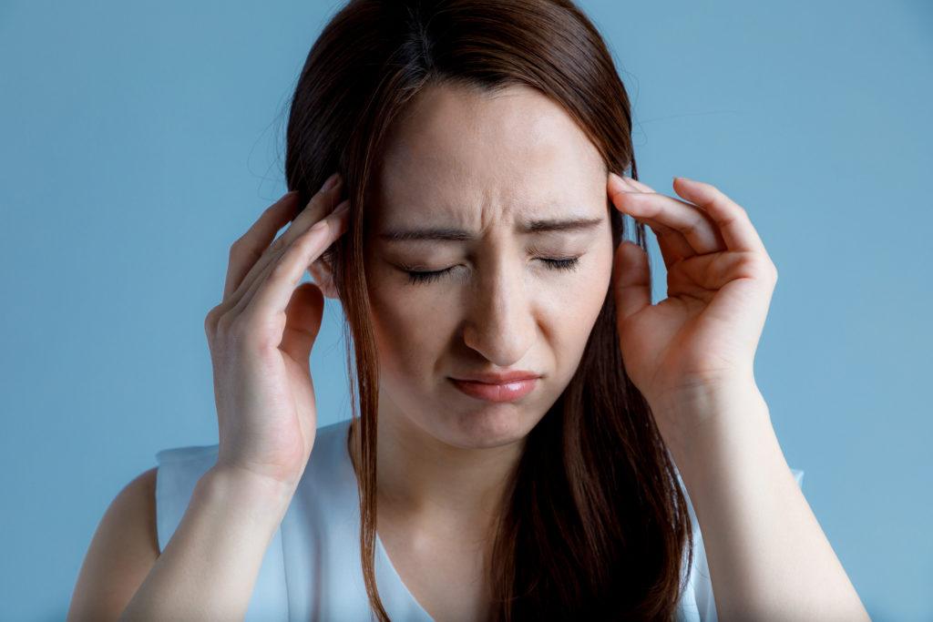 交通事故による頭痛