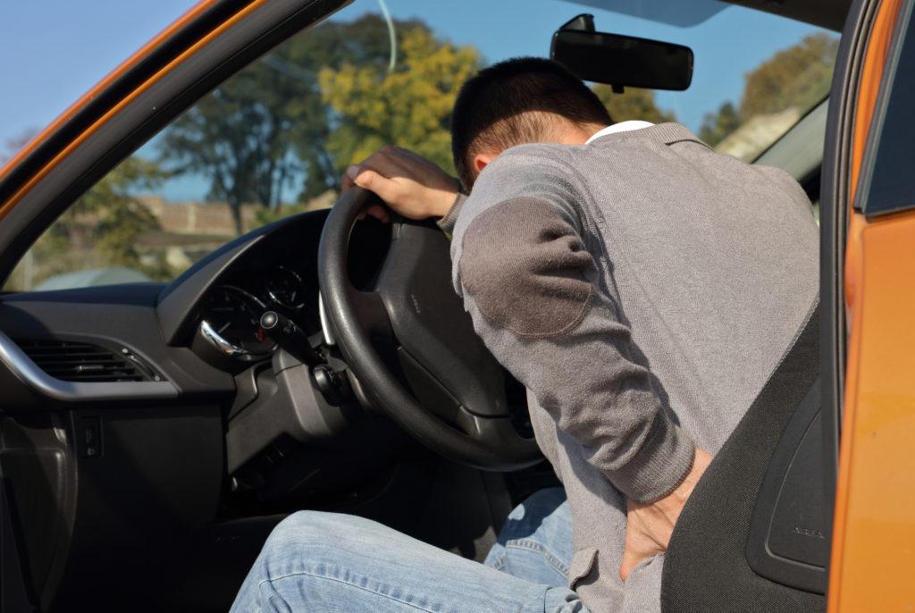交通事故による腰痛