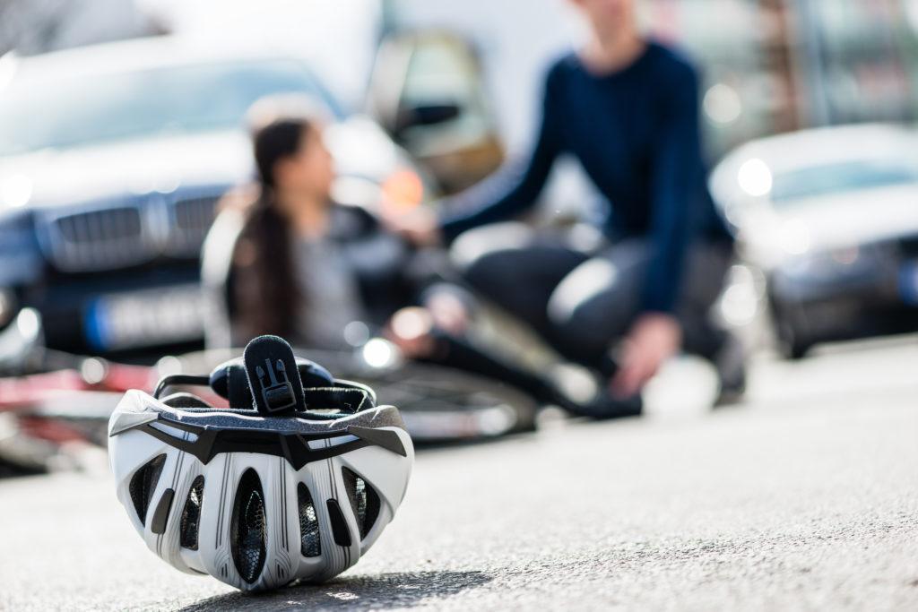 自転車での交通事故
