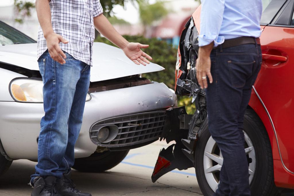 交通事故直後の話し合い