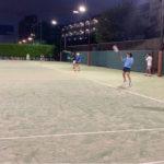 桜台庭球塾での選手サポート開始