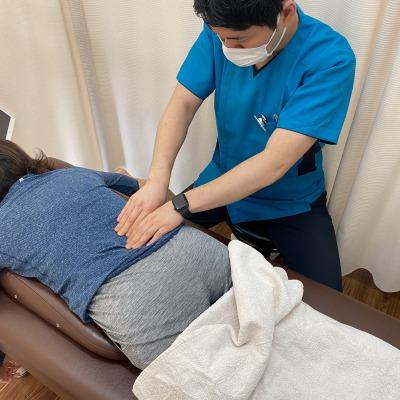 骨盤からくる腰痛に対しての筋膜リリース